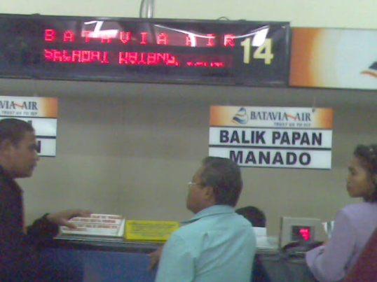 Di Bandara Soekarno-Hatta