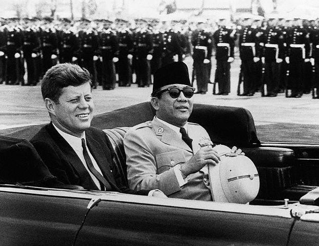 Soekarno, John F. Kennedy