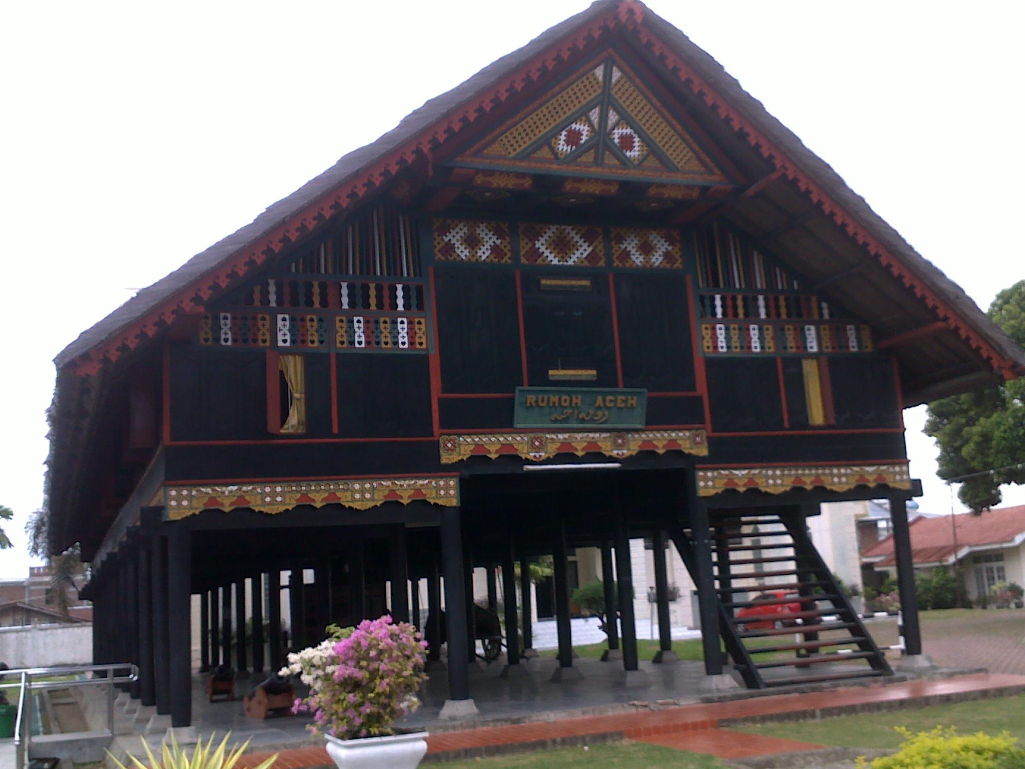 Gambar Rumah Adat Aceh Dan Penjelasannya Feed News Indonesia