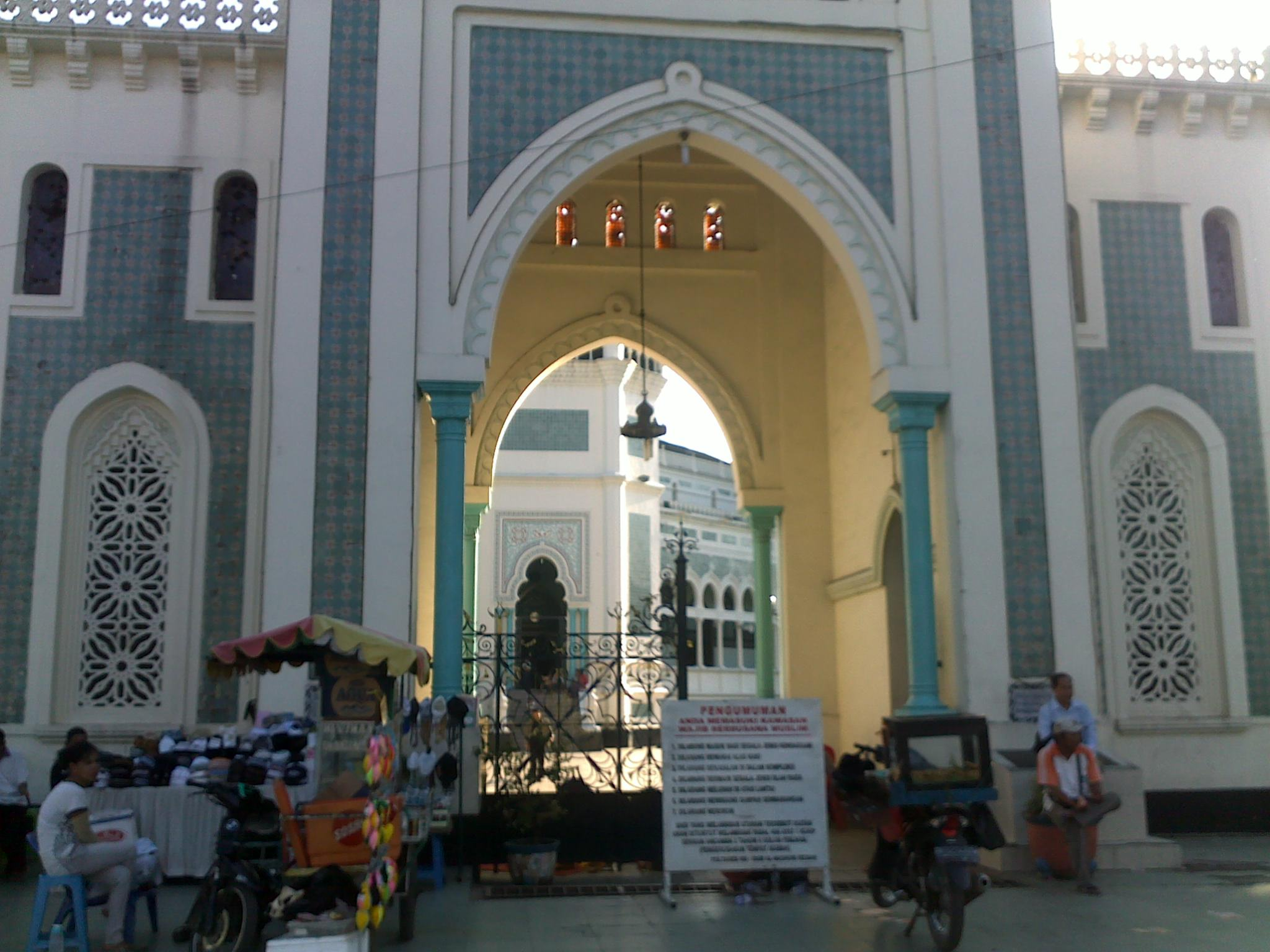 Gambar Pintu Gerbang Masjid Brad Erva Doce Info