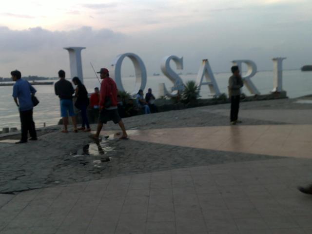 Boulevard di Pantai Losari
