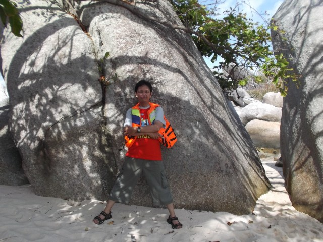 Narsis di Pulau Lengkuas