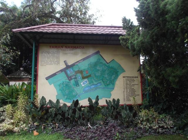 Peta Taman Narmada