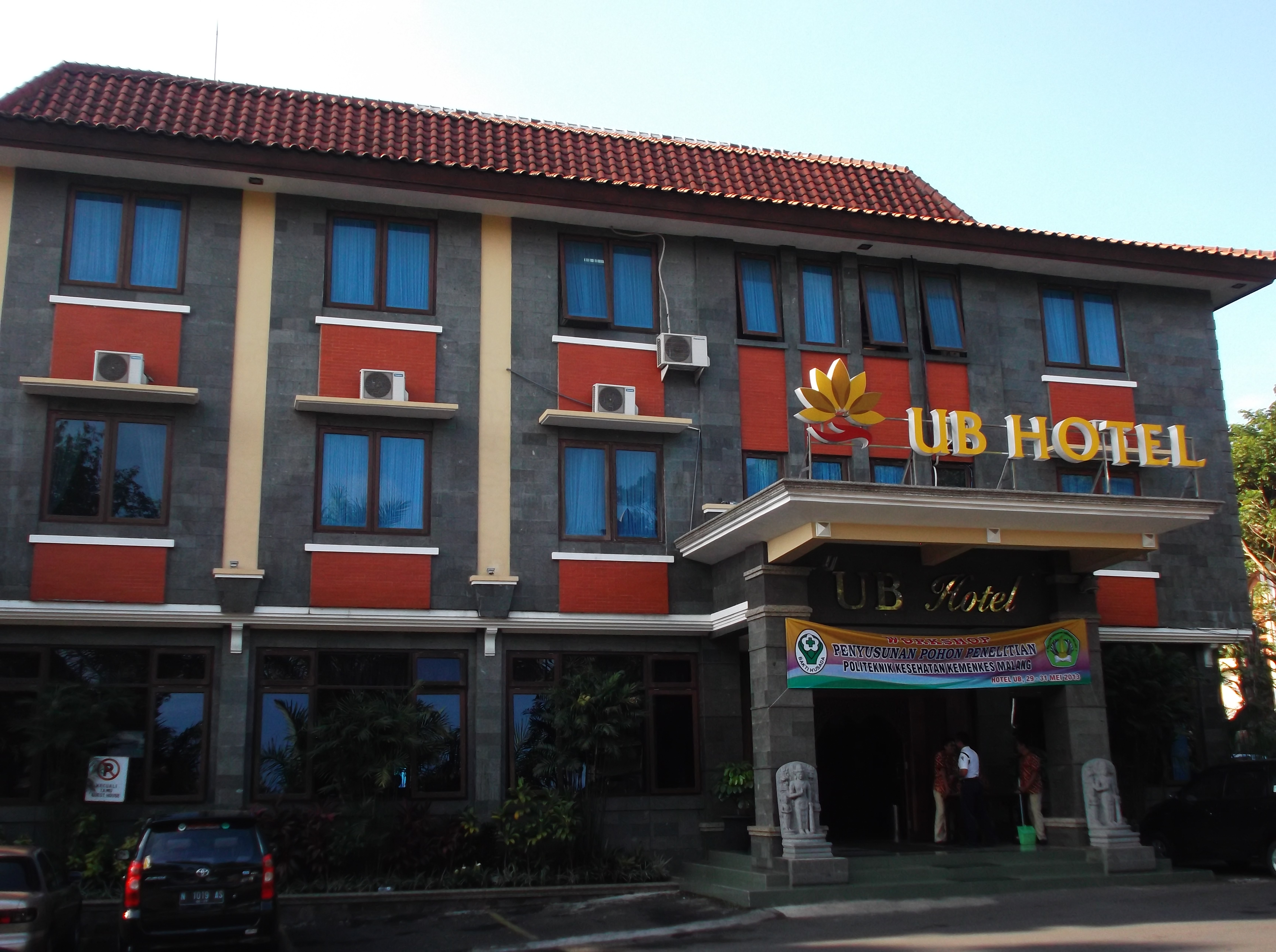 Hotel UB Di Dalam Kampus