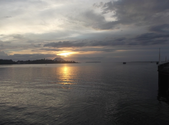 Sunset di Kima Bajo.