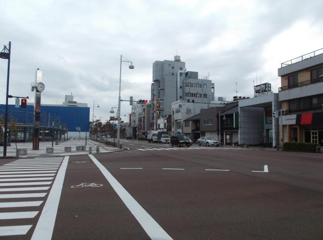 Sudut jalan kota Komatsu