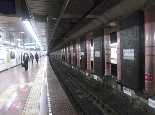 Jalur rel kereta subway