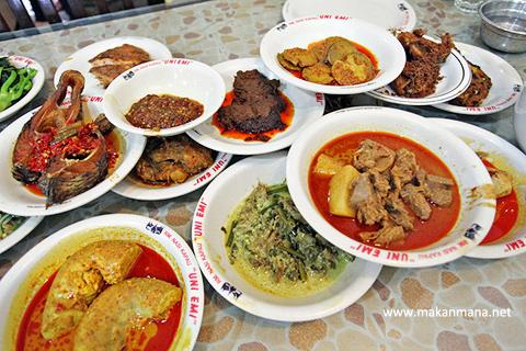 Masakan Padang Itu Sehat Tidak Perlu Khawatir Lagi Dengan Hantu Kolesterol Catatanku