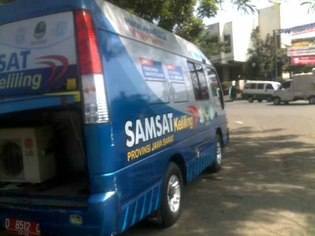 Mobil SAMSAT keliling