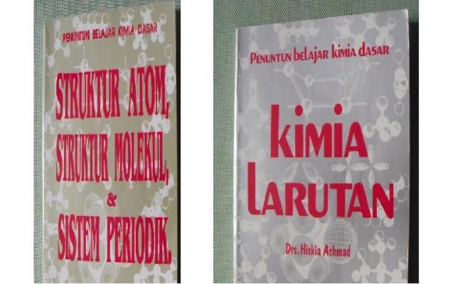 Beberapa buku karangan Hiskia Ahmad