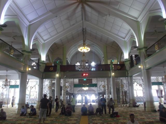 Interior bagian belakang