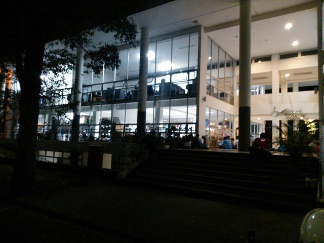 Suasana Gedung CC Barat