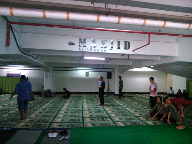 Masjdi Al-Amanah, Holiday Inn