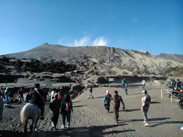Menuju Gunung Bromo