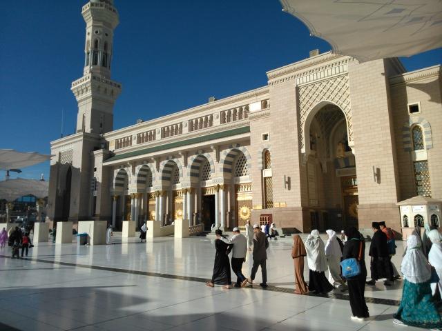 Masjid Nabawi dari sisi lainnya