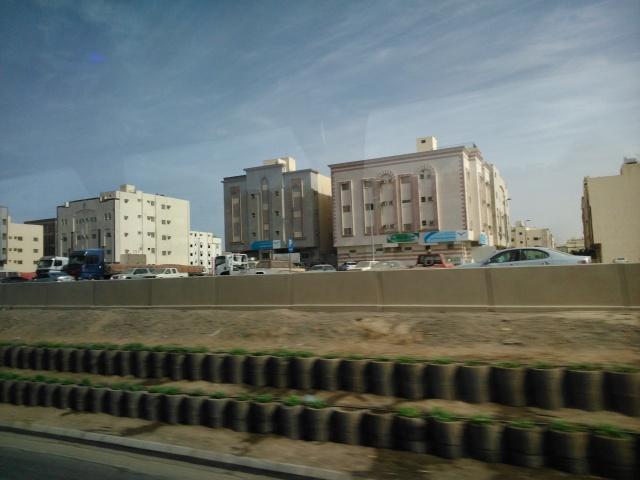 Suasana pinggiran kota Madinah