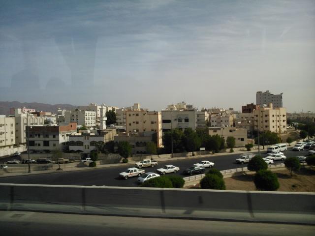 Suasana di pinggiran kota Madinah