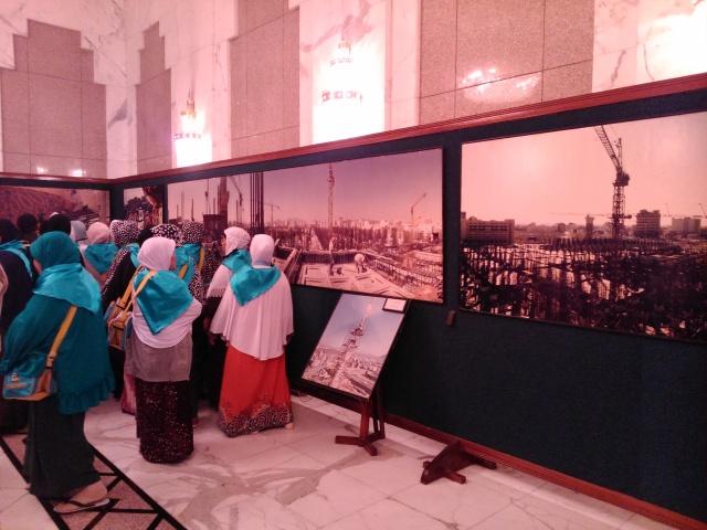 Foto-foto pembangunan Masjid Nabawi