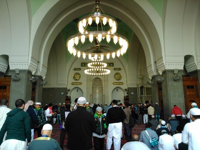 Mihrab Masjid Quba