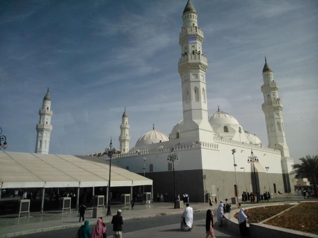 Masjid Quba tampak dari luar