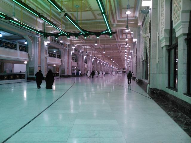 Area anatra Shofa dan Marwah untuk melakukan sa'i.