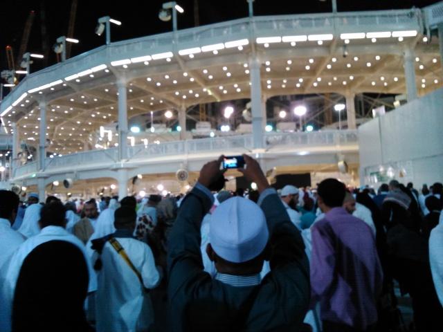 Bangunan dua lantai yang bersifat tenporer untuk menampung jamaah yang melaksanakan thawaf