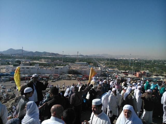 Antusiasme jamaah mendaki Jabal Rahmah