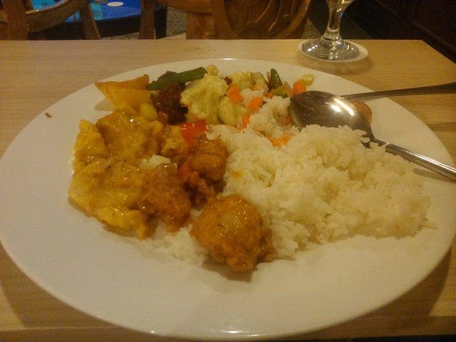 Masakan yang hambar di sebuah hotel berbintang