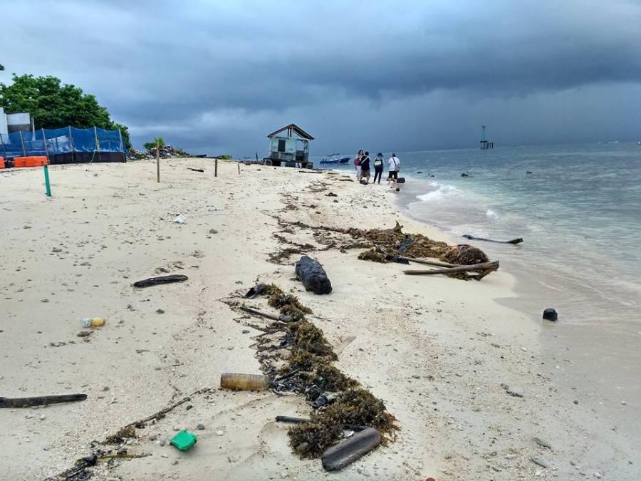 Pemandangan lainnya di Pulau Samalona